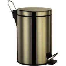 Ведро для мусора Wasserkraft K-645 светлая бронза