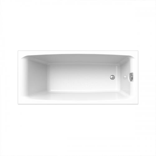 Ванна Веста 168х70 фронтальная панель, каркас + слив-перелив