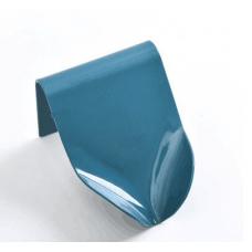 Настенная мыльница со стоком, голубая