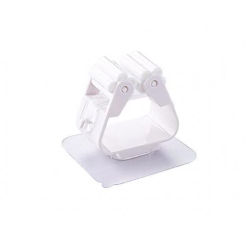 Настенный держатель, белый (швабра, метла)