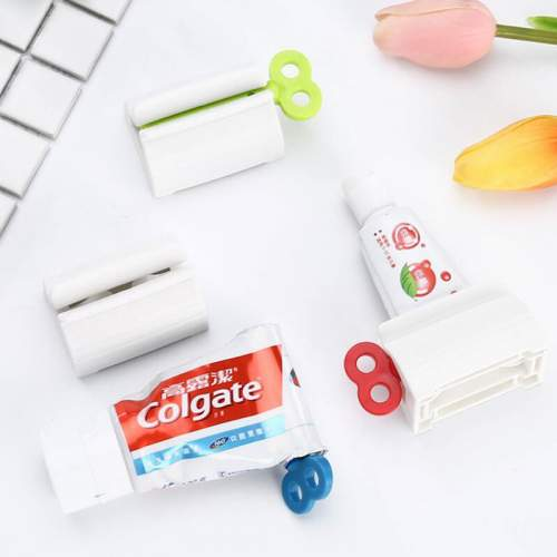Ручной диспенсер для зубной пасты, белый