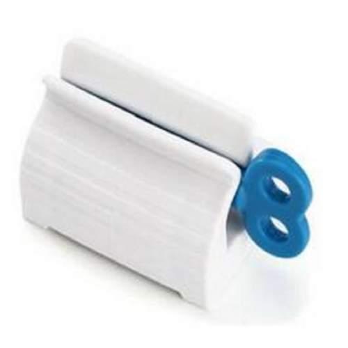 Ручной диспенсер для зубной пасты, синий