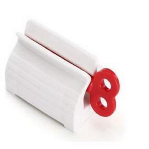 Ручной диспенсер для зубной пасты, красный