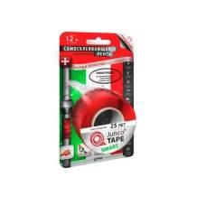 Лента самосклеивающ. силиконовая JuncoTAPE 25,4мм*3м*0,5мм, красная