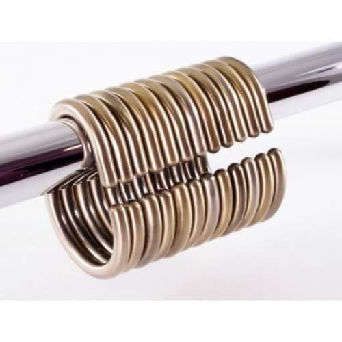 Набор колец для шторы HK-12 Bronze Elghansa
