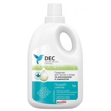 DEC Средство д/чистки и ухода за линолеумом и ламинатом (1л)