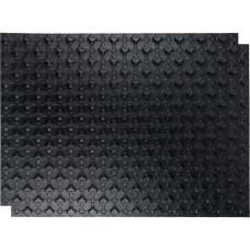 SMF-0001-110802 STOUT Мат для теплого пола с бобышками черный 1100х800х20