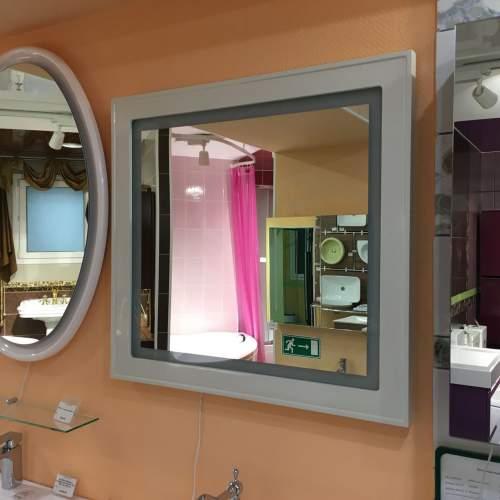 Зеркало с подсветкой и сенсором Prm 800.11 01 бежевое