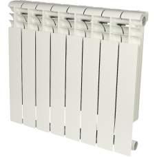 Радиатор алюминиевый ROMMER Profi 500 (AL500-80-80-100) 8 секции (RAL9016)