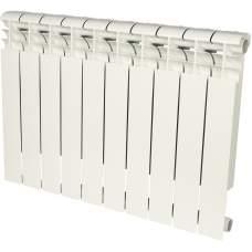 Радиатор алюминиевый (RAL9016) ROMMER Profi 500 (AL500-80-80-100) 10 секции