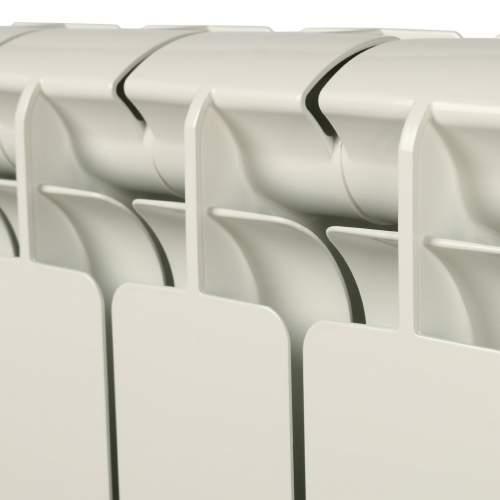 Радиатор отопления алюминевый SRA-0110-050014 STOUT Bravo 500  бок. подкл.  14 секций