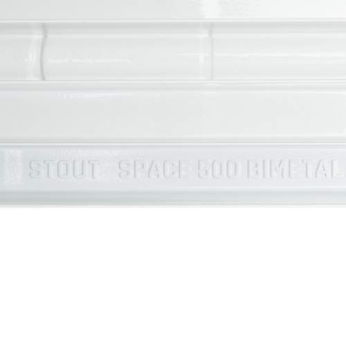 SRB-0310-050004 STOUT Space 500 биметаллический, бок.подкл., 4 секц.