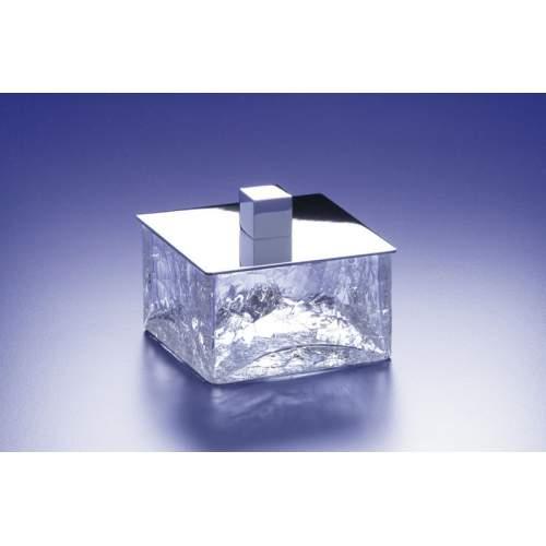 Баночка золото/хрусталь кракле BOX 88127O