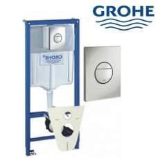 Grohe-Rapid SL WC Инсталяция для подвесного унитаза Promotion-Set 4 в 1 38813001