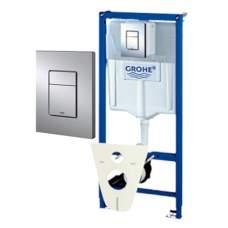 Grohe-Rapid SL WC Инсталяция для подвесного унитаза Promotion-Set 4 в 1 38775001