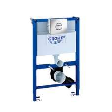 Grohe-Rapid SL WC Инсталяция для подв. унитаза, угловой монтаж (1м) 38712001+ кнопка 38505000