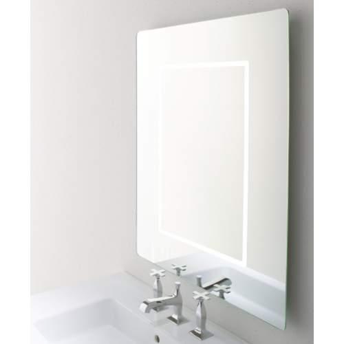 ROMA Зеркало с подсветкой серебряный эффект 65*85 см