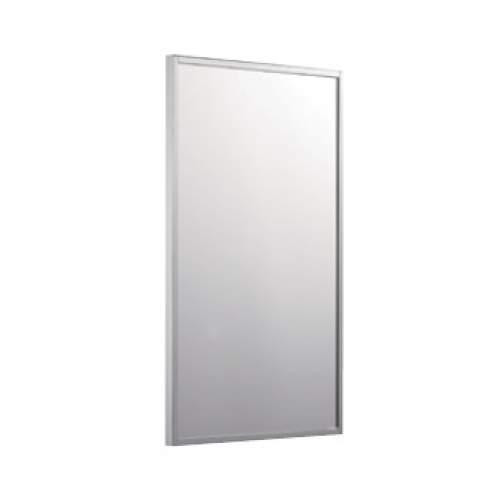 Зеркало 100*100 с матовой алюминиевой рамкой без светильника