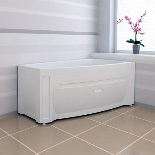 """Угловая акриловая ванна """"Мэги (140х80)"""", нестандартная комплектация"""