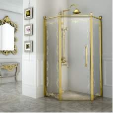 Душевое ограждение «Палаццо» Gold