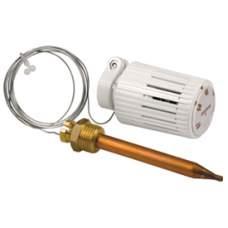 """Головка термостатическ. R462L1 + обж/муф1/2""""Н с прокл д/накл. датчика L=2м, GIACOMINI"""