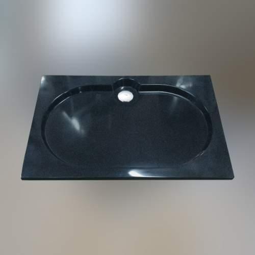 Душевой поддон 120x80x2 см Q-черный